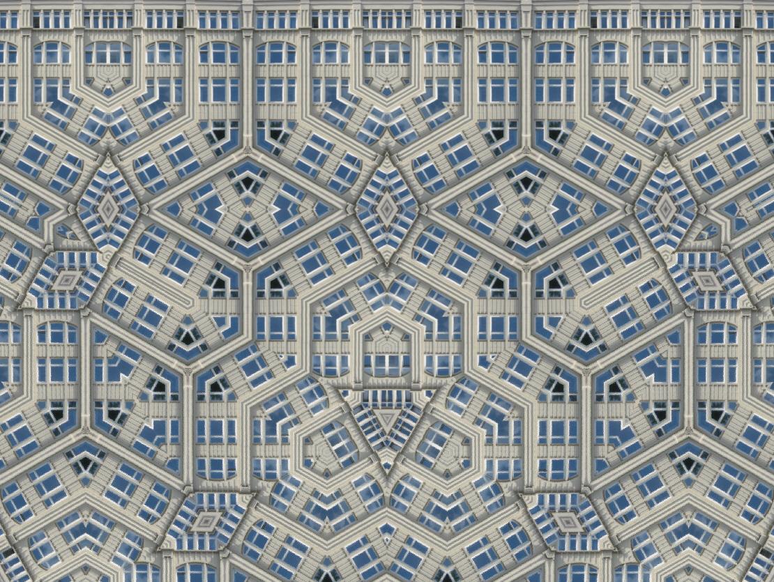 Fenster-Kaleidoskop